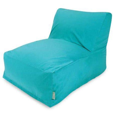 majestic home teal bean bag chair lounger walmartcom