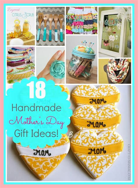 Handmade Mothers Day Presents - s day gift ideas