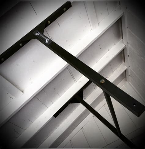 Ceiling Bars by Sloped Vaulted Ceiling Pull Up Bar Stud Bar Ceiling Or