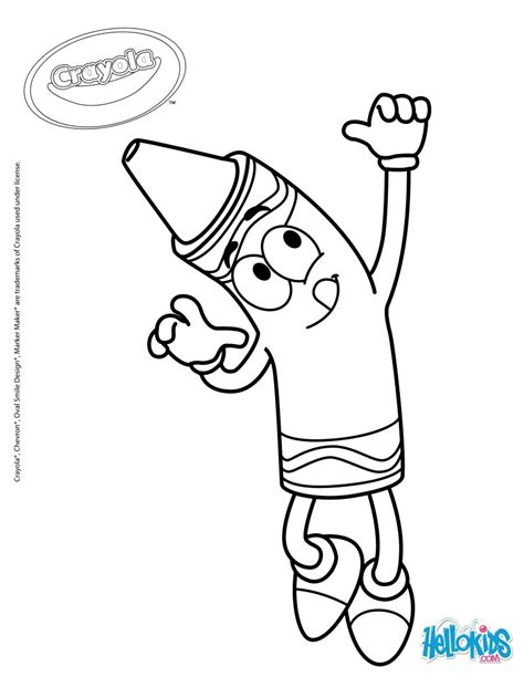 crayola coloring pages crayola 19 coloring pages hellokids