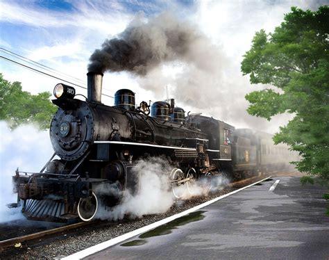 wallpaper engine not in steam library steam train by aliachek on deviantart
