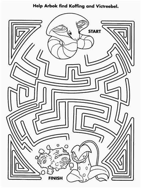 printable hidden picture mazes pokemon maze hidden picture mazes pinterest maze