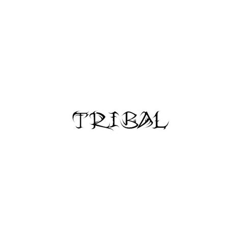 tattoo fonts preview tribal fonts character map preview illustration of