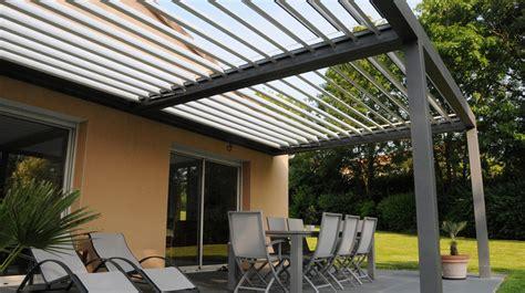 pergola bioclimatique prix au m2 470 d 233 couvrir la pergola bioclimatique verre clair