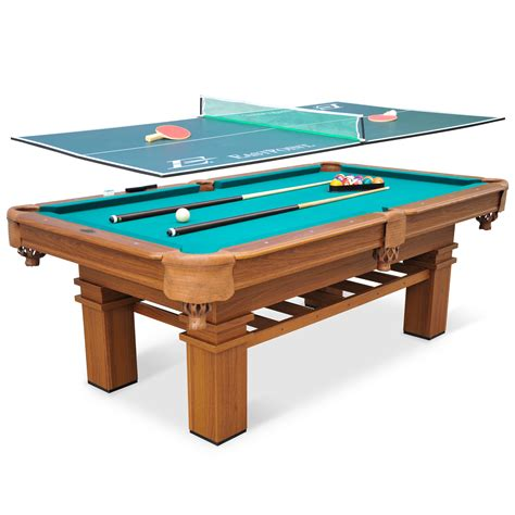 pool table cues 87 quot billiard pool table tennis top 2 in 1 triangle brush cues chalk room ebay