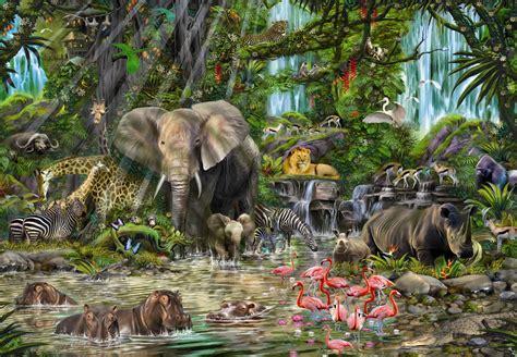 animal jungle jungle educa 2000 puzzle