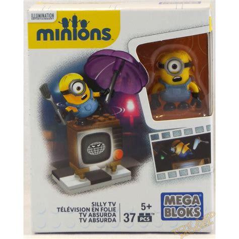 Mega Bloks Minions Silly Tv mega bloks minions silly tv 37 pcs set cnf49 genuine uk ce 5 years new 163 8 99 picclick uk