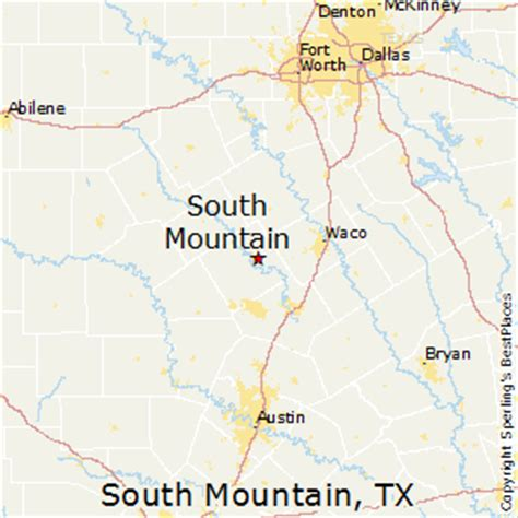 mountain texas map best places to live in south mountain texas