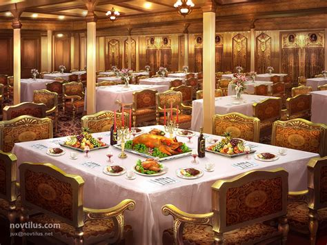 titanic 1st class dining room 1st class dining saloon by novtilus on deviantart
