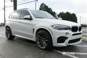 Bmw Suv Wide Tires Bmw X5m With 22in Avant Garde F331 Wheels Exclusively From