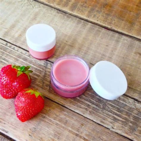 Nature Lip Balm Strawberry 15 tasty diy lip balm recipes diy experience