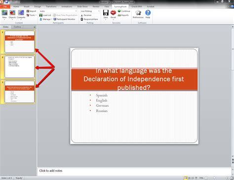 Neu Turningpoint Converting Existing Powerpoint Slides To Powerpoint Slides
