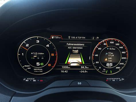 Audi Virtual Cockpit by Audi A3 Limousine Virtual Cockpit Ubi Testet