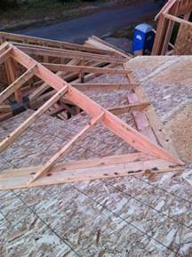 Add Gable To Roof Tying Into A Exsisting Roof Framing A Cross Gable