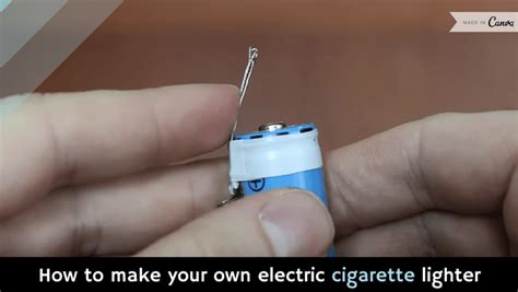 how to make your own electric cigarette lighter video