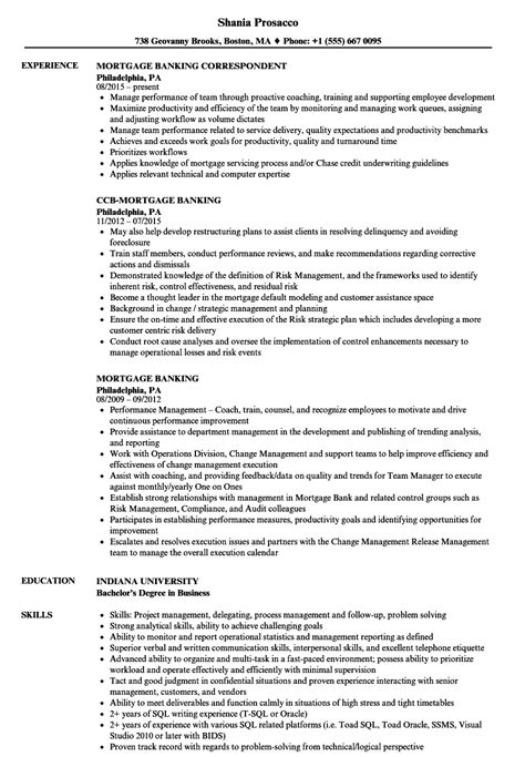 loan originator resume sle gallery entry