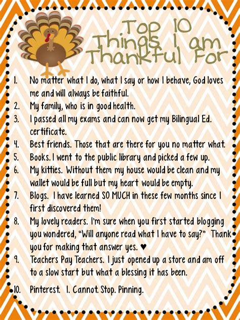 8 Things Im Thankful For by The Diaries Top 10 Things I Am Thankful For And