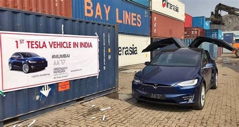 india   tesla model  electric suv arrives
