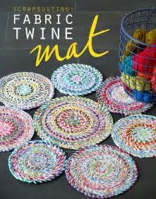 Make Braided Rug Fabric Twine Spiral Mat My Poppet Makes