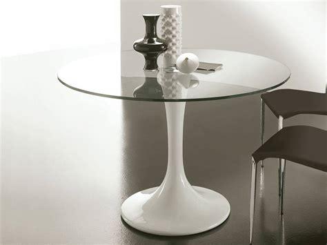 tavolo tondo vetro awesome tavolo tondo vetro contemporary home design
