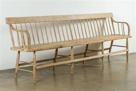 decon bench 19th century deacon s bench at 1stdibs