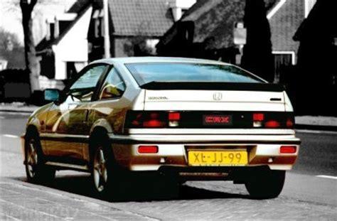 honda crx 80 classic cars of the 80 s