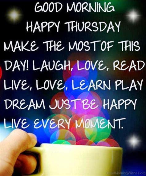 Morning Happy 38 morning wishes on thursday