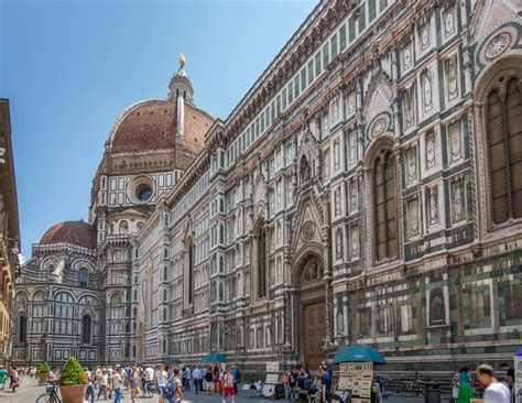 cathedral of santa fiore climbing the dome in florence italy