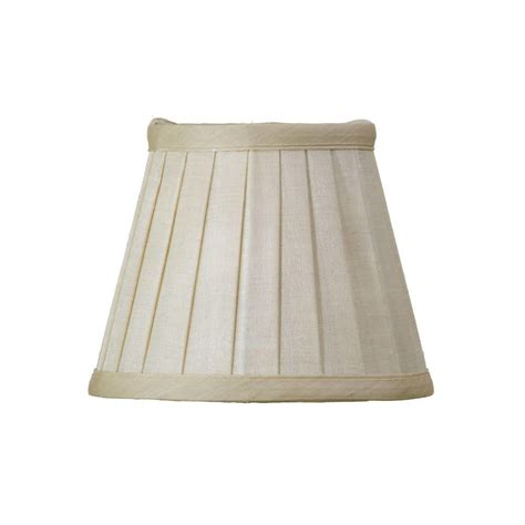 6 inch l shade pleated 6 inch candle shade gold from litecraft