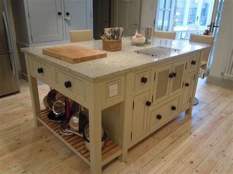 Kitchen Breakfast Bar Designs by Free Standing Kitchen Units Belfast Sink Unit Larder