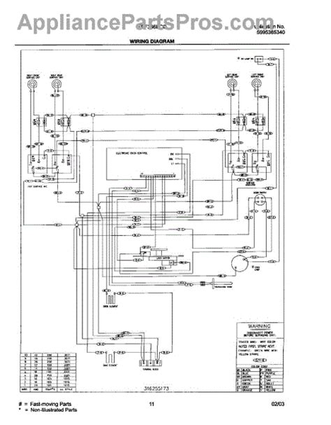 parts for frigidaire fef366bcc wiring diagram parts
