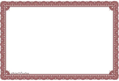 free coloring pages of certificate border
