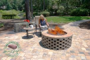 Diy Firepit Ideas Diy Firepits Lowcountry Paver