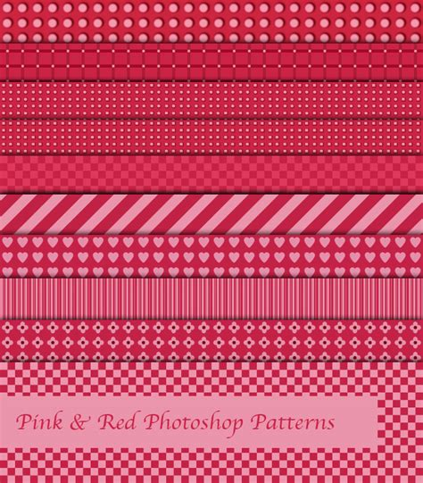 pattern pink photoshop pink and red photoshop patterns by sdwhaven on deviantart