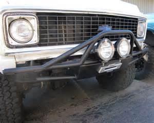 front winch bumper fits chevy gmc k5 blazer truck 1968