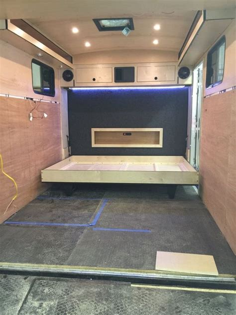 Rv Bathroom Remodeling Ideas by Image Result For 6x10 Cargo Trailer Camper Conversion