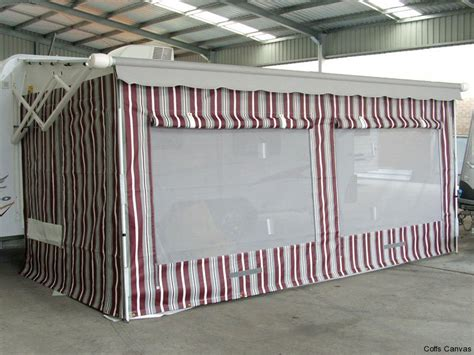 caravan roll out awning walls caravan annexes 171 coffs canvas