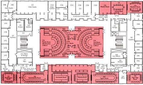 Banquet Hall Floor Plan by Conference Center East West Center Www Eastwestcenter Org