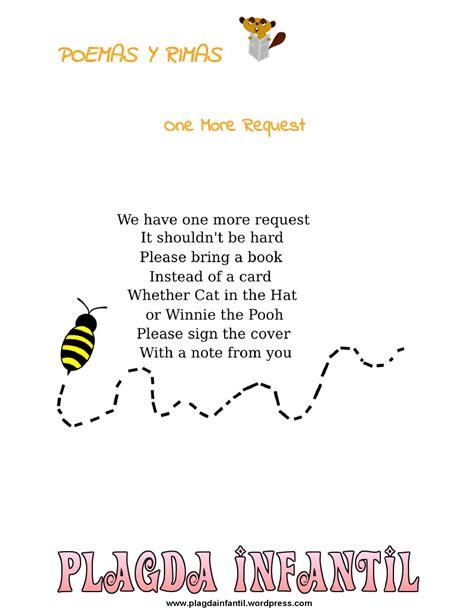 Poemas De Insectos Para Ninos | poemas plagda infantil