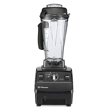 vitamix bed bath and beyond vitamix 174 professional series 500 blender in black diamond