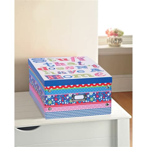 printer paper storage b m gt floral print paper storage box large stuff
