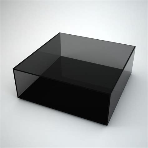 black glass square coffee table mirrored coffee table by mirrorbox klarity