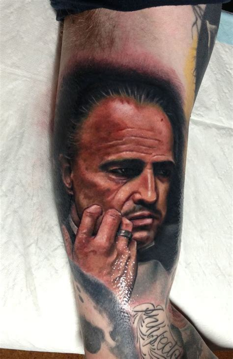 inkfamous tattoo the godfather tattoos a bloody saga