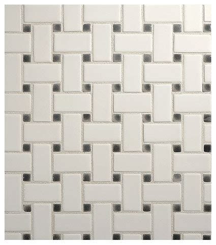 vermeere ceramic mosaic basketweave gloss complete tile collection