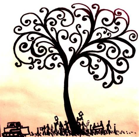doodle meaning tree quot if only one remembers to turn on the light quot tree of
