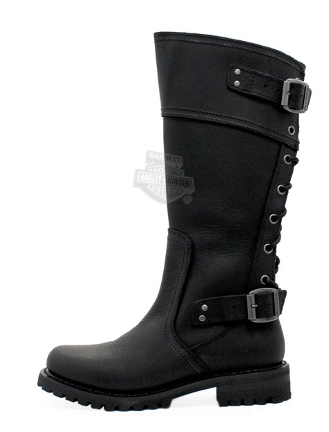 85167 Harley Davidson 174 Womens Alexa Black High Cut