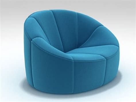 Ligne Roset Pumpkin 3277 by Pumpkin Armchair 3d Model Ligne Roset
