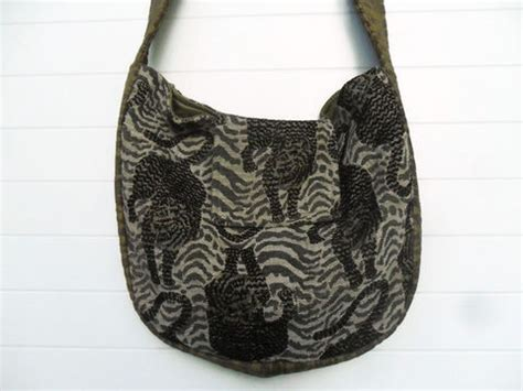 Just Cavalli Lace Giraffe Print Hobo by Bohemian Collection Zojja Uniquely You