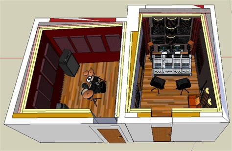 home builder design studio small professional home recording studio in italy