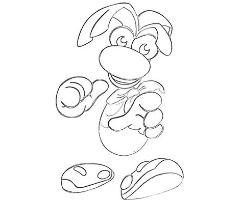 rayman coloring pages rayman legends free coloring pages
